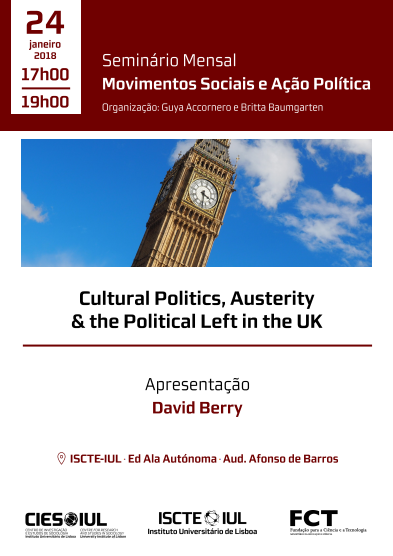 Cultural Politics, Austerity and the Political Left in the UK