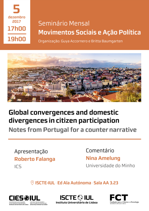 Global convergences and domestic divergences in citizen participation: Notes from Portugal for a counter narrative