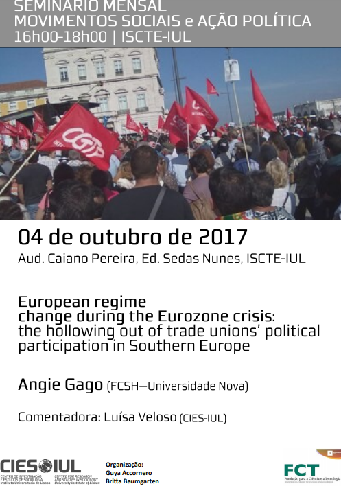 European regime change during the Eurozone crisis: the hollowing out of trade unions' political participation in Southern Europe