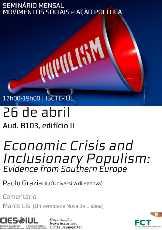 Economic Crisis and Inclusionary Populism: Evidence from Southern Europe