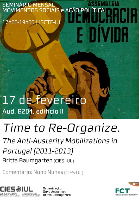 Time to Re-Organize. The Anti-Austerity Mobilizations in Portugal (2011-2013)